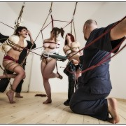 Shibari shoot in Rome