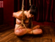 Jojo low shibari suspension bondage