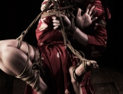 Shibari suspension expressive hands