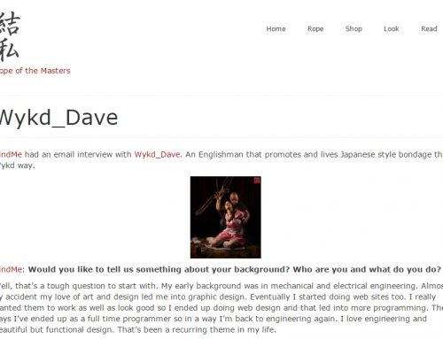 Interview with WykD Dave on BindMe.nl