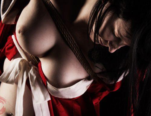 Belle Morte Shibari bondage shoot 2016