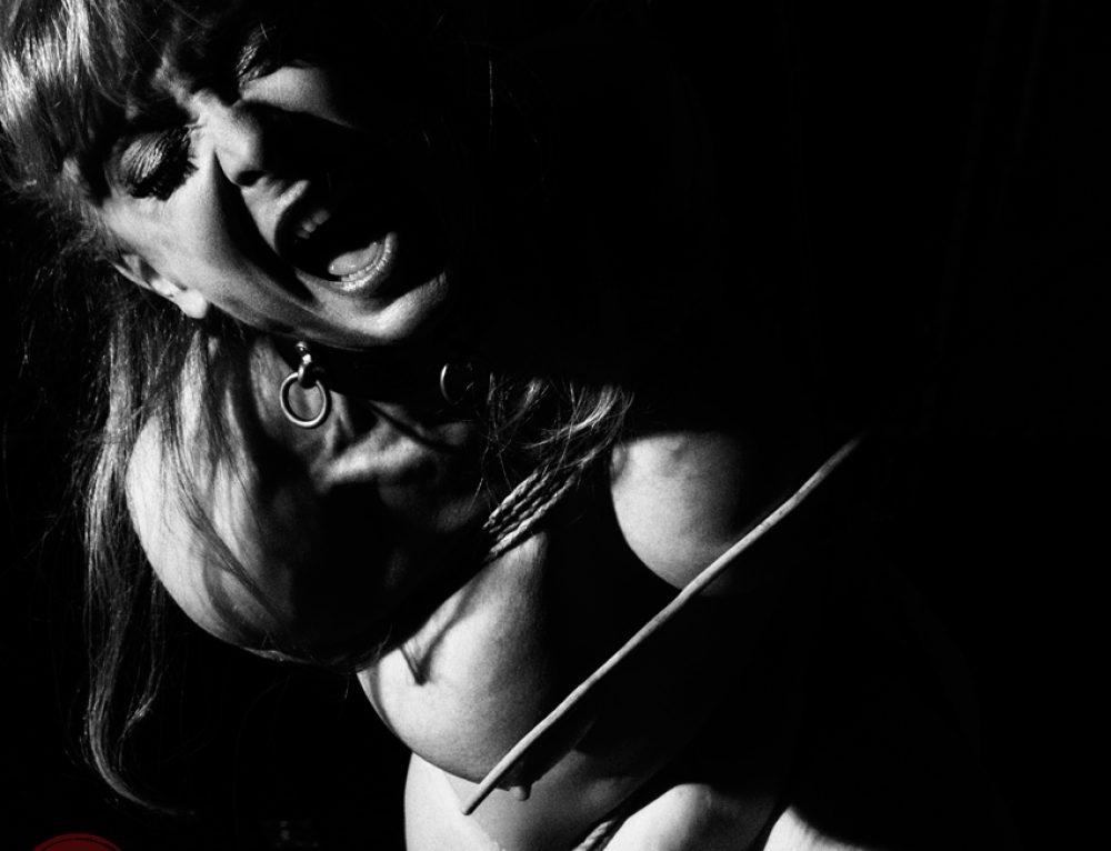 Nina Hartley Shibari bondage shoot