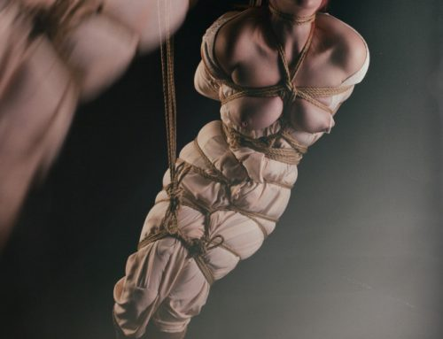 Brief but beautiful kinbaku bondage session with Red Riding Brat