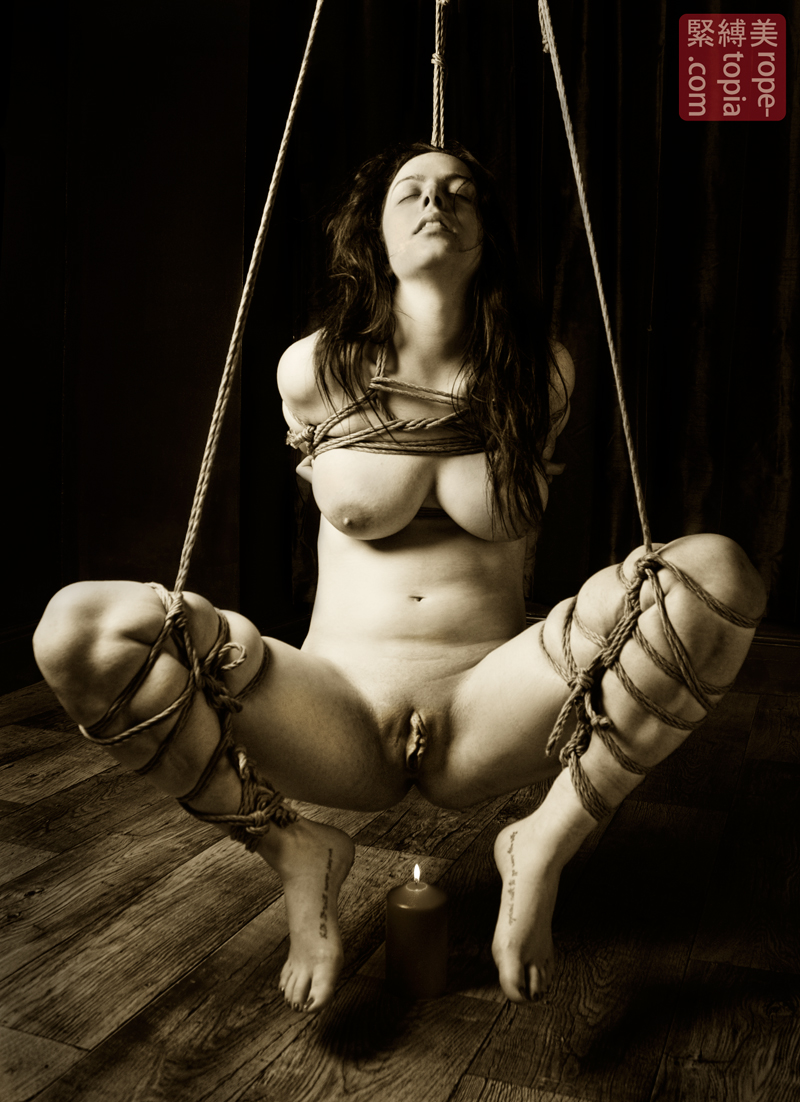 japan kinbaku Japanese Bondage Shibari bawdy Japanese rope bondage with Beauvoir