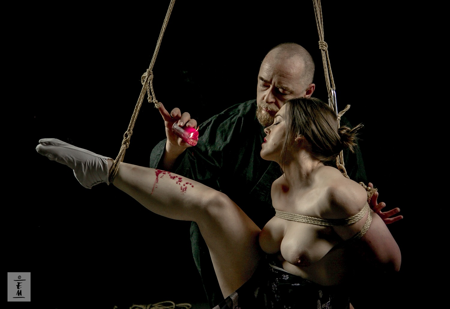 Shibari intensive in Memphis Tennessee April 2016