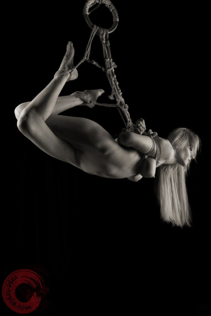 Shibari shoot with Angel Price